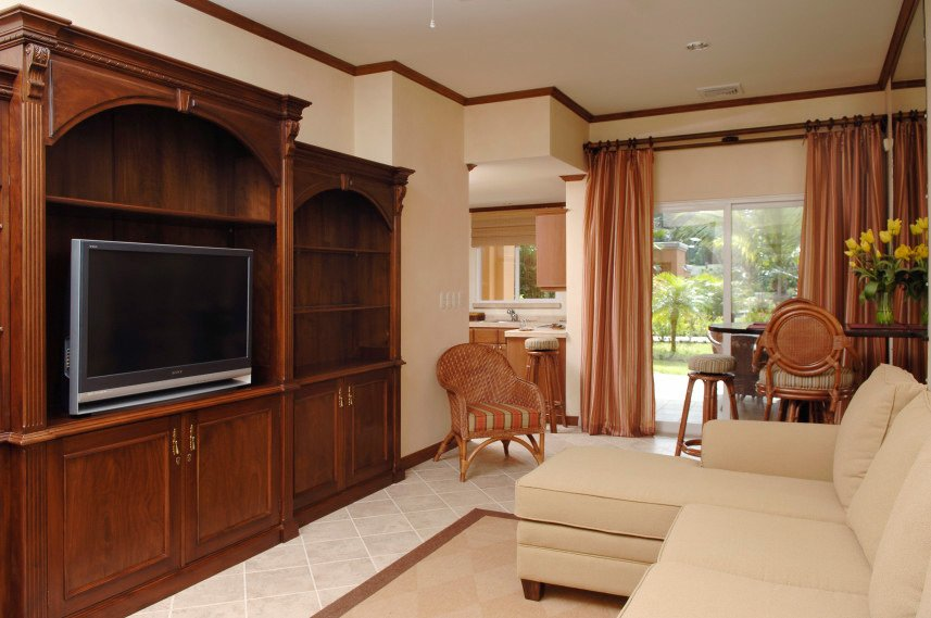 licing room at luxury rental in Los Suenos, Costa Rica