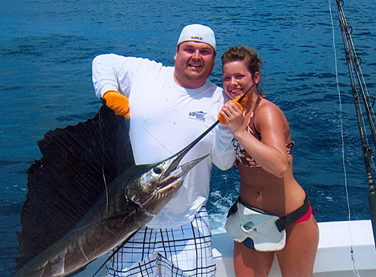 Costa rica fishing charters 36 39 topaz express for Los angeles fishing charters