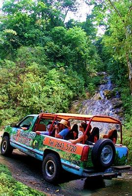 Costa Rica Waterfall Tour