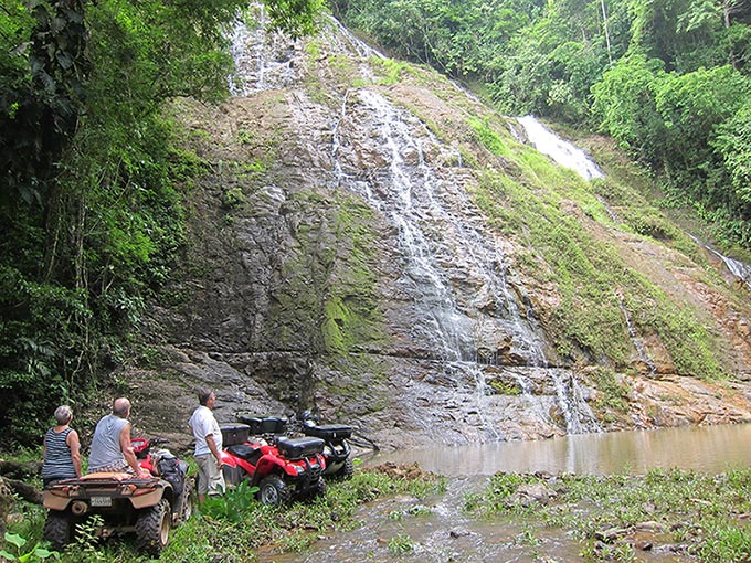 Costa Rica ATV Waterfall Tour