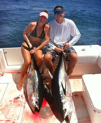 Fishing Report from rainy Costa Rica with Capt. Alligood
