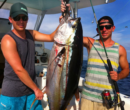 Green-Season Fishing is on with Capt. Mike Alligood