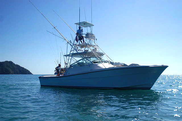 Fishermans guide costa rica for Los angeles fishing charters