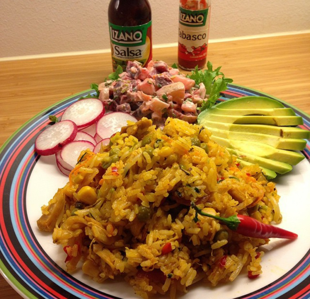 arroz con pollo in costa rica