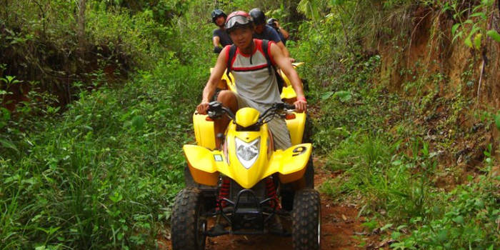 group atv tour in costa rica