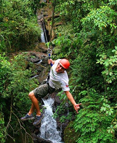 canyoning adventure tour in costa rica